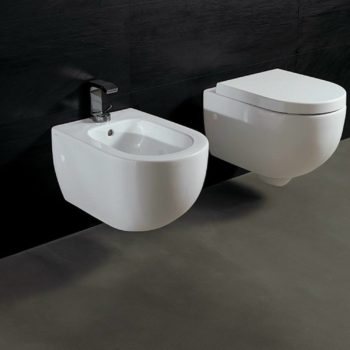 Bidet Salenzi Form Square Mat Wit